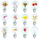 Twelve electric bulbs