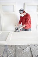 Renovating a door