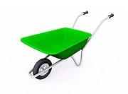 Die Grüne Schubkarre _ freigestellt