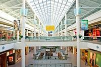 Interior of Mall USA