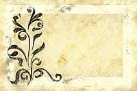 old floral design