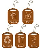 Recycle item tags