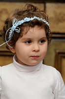 young child at a wedding