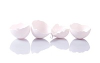 Group of eggshells