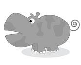 Clip art hippo