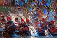 Boat race competition has been holding for two hundred fifty years due to the Laxmi Puja  Hindu religious festival at Kaligonj, Gopalganj About ninety...