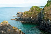 Mevagissey Rock Coastline