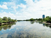 Serpentine lake, London