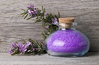 Rosemary bath salts.