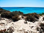 elafonissos, isola di creta, grecia, europa