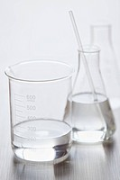 Medical still of laboratory glassware (thumbnail)