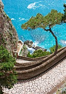 Capri view _ Via Krupp
