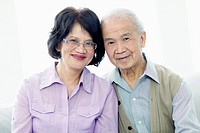 Portrait of middle_aged couple