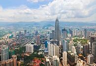 Kuala Lumpur Malaysia city view