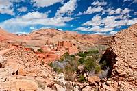 Kasbah in Dades Valley, Maroc.