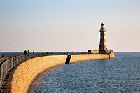Roker Pier and Lighthouse Sunderland England