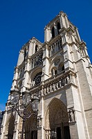 France, Ile de France, Paris, Notre Dame cathedral