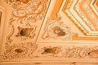 Corner Ceiling Decoration _ Dolmabahche Palace