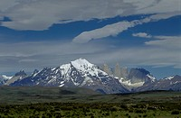 The magnificent ANDEAN PEAKS of TORRES DEL PAINE NATIONAL PARK _ PATAGONIA, CHILE