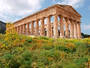 Doris greek temple at Segesta, Sicily, Italy