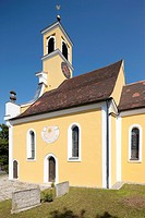 St. Georgs church, Igensdorf, Bavaria, Germany