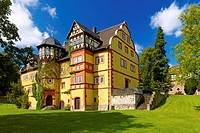 Geyso Castle, Mansbach_Hohenroda, Hesse, Germany