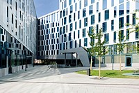 Emporio quarter with Scandic Hotel, Hamburg, Germany