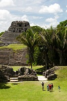 Archeological site Xunantunich, Belize