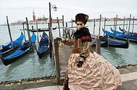 Italy, Veneto, Venice, Carnival