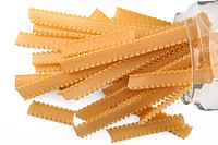 Noodles, dried pasta.