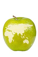 Apple World Map
