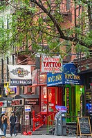 New York, NY, USA, West Village, Shopping, Street Scenes, Shops on Mac Dougal St , Manhattan