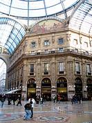 galleria vittorio emanuele II, milano, lombardia, italia