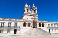 Igreja de Nossa Senhora da Nazare, Church of Nossa Senhora da Nazare, Largo Nossa Senhora da Nazare, Sitio, old village, Nazare, Oeste, Leiria Distric...