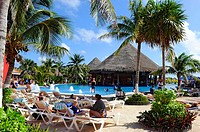 Costa Maya Mexico Beach Caribbean Cruise Ship Port Swimming Pool