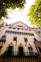 Casa Amatller in Barcelona Spain