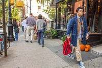 New York, Street Scenes, Shopping in Greenwich Village