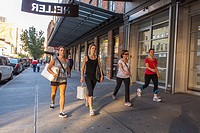 New York City, NY, USA, People Walking, Clothing Stores, Street Scenes, in the Meatpacking District, in Manhattan, transformed from gritty to fabulous...