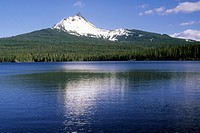 Mount Washington & Big Lake, Willamette National Forest, Oregon