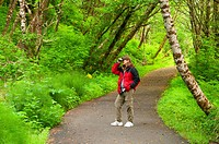 Discovery Trail, Cape Disappointment State Park, Lewis and Clark National Historical Park, Washington