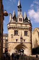 France, Aquitaine, Gironde,  ´Porte de Cailhau´, XVc , at Bordeaux.