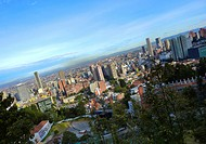 Panoramic of the City of Bogota, Cundinamarca, Colombia