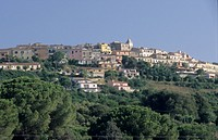 Isola d´Elba, veduta del paese di Capoliveri