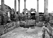 africa, libia, leptis magna, rovine, 1910 1920