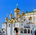 Cathedral of the Annunciation 1489, Moscow Kremlin, Moscow, Russia