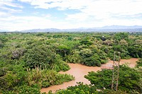 Landscape of Huila, Neiva, Colombia