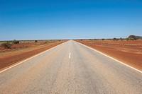 Australian outback road landscape