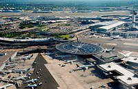New York City, the JFK airport, Queens