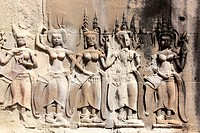 Deavatas zweite Ebene Angkor Wat Tempel