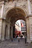 Entrance to Royal Academy of Arts Piccadilly London